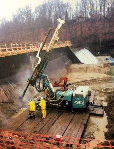 Canonsburg Dam Drilling-2